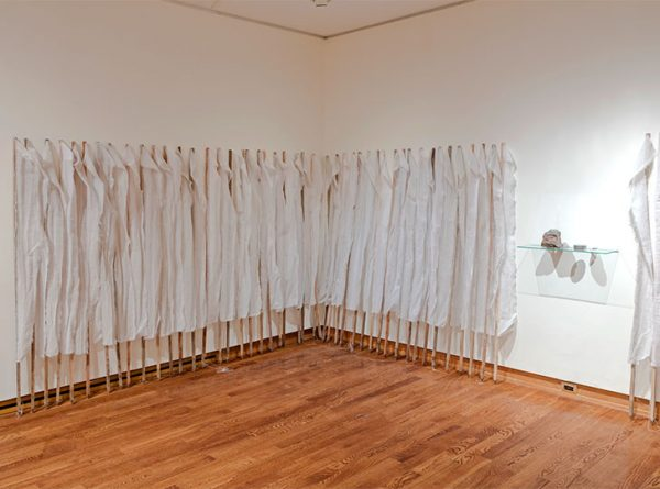 """""""Installation view of Rocks, Stones, and Dust, 2015. Image credit: Toni Hafkenscheid"""""""