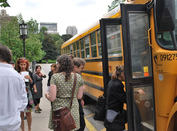 """""""Contemporary Art Bus Tour"""""""