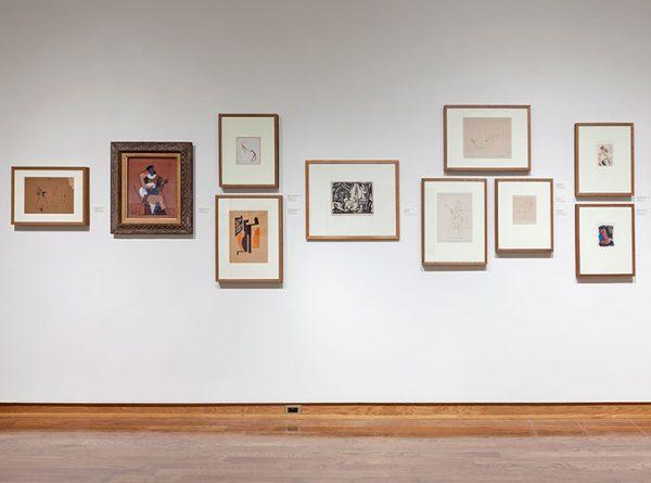 "'Installation view of Framing Narratives: Renaissance to Modernism, 2014. Image credit: Toni Hafkenscheid"""