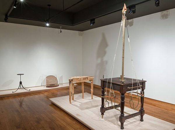 "'Installation view of Gord Peteran: Furniture Meets its Maker, 2009. Image credit: Toni Hafkenscheid"""