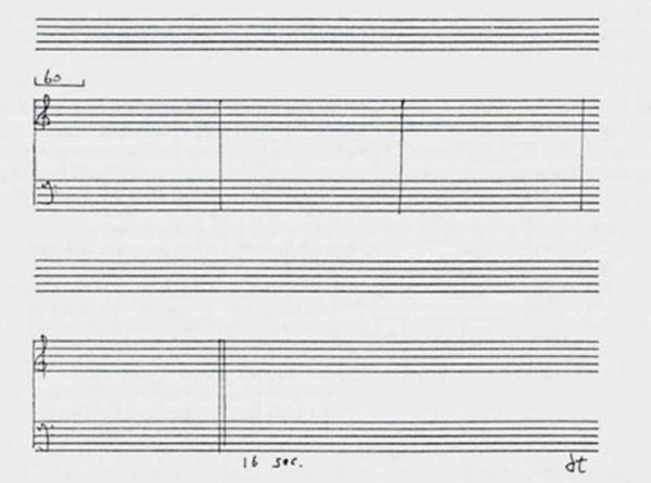"""'Works by John Cage"""""""