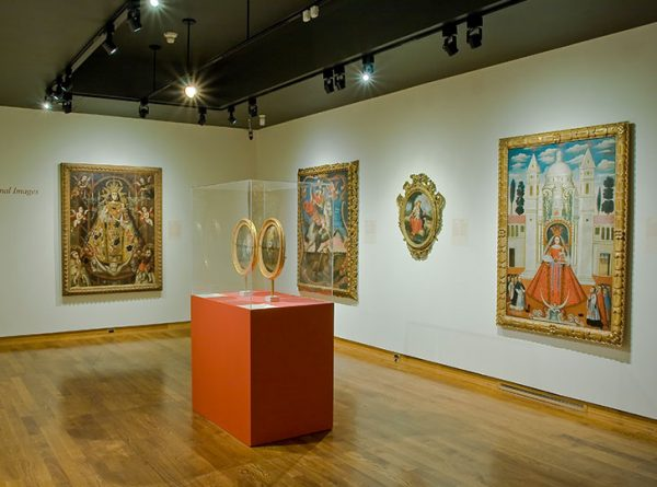 """""""Installation view of The Virgin, Saints and Angels, 2007. Image credit: Toni Hafkenscheid"""""""