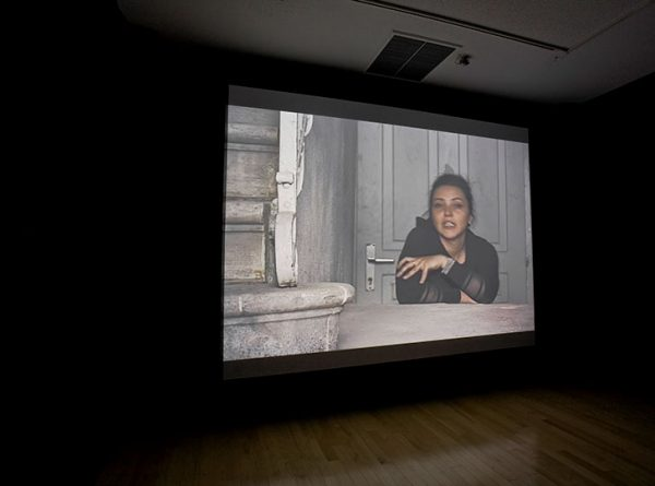 """Installation view of Signals in the Dark: Art in the Shadow of War, 2008. Image credit: Toni Hafkenscheid"""