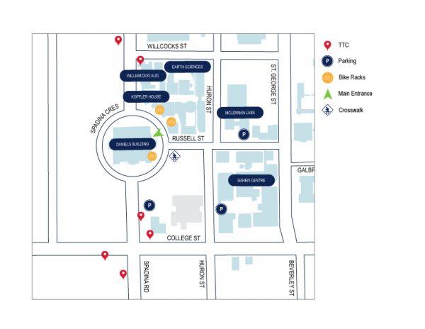 map of Daniels