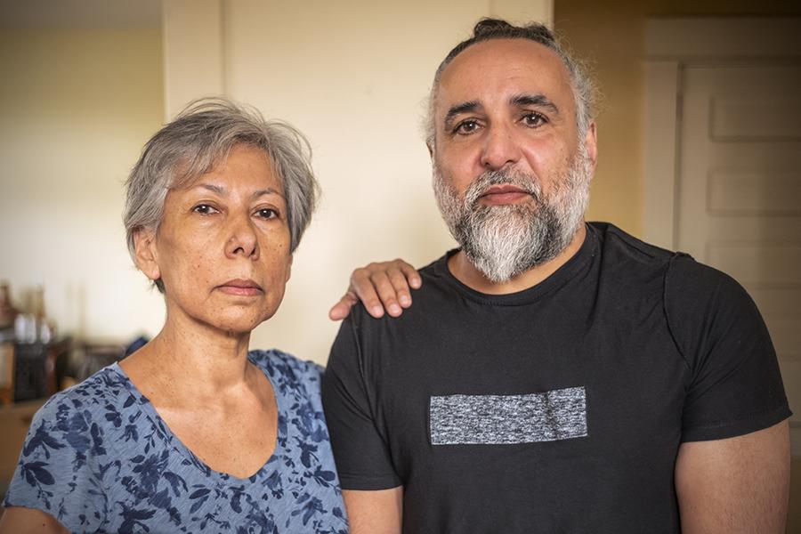 Rebecca Belmore and Osvaldo Yero
