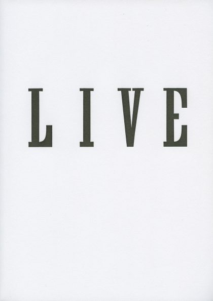 live book cover