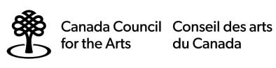 black lettering against a white background for the Canada Council for the Arts