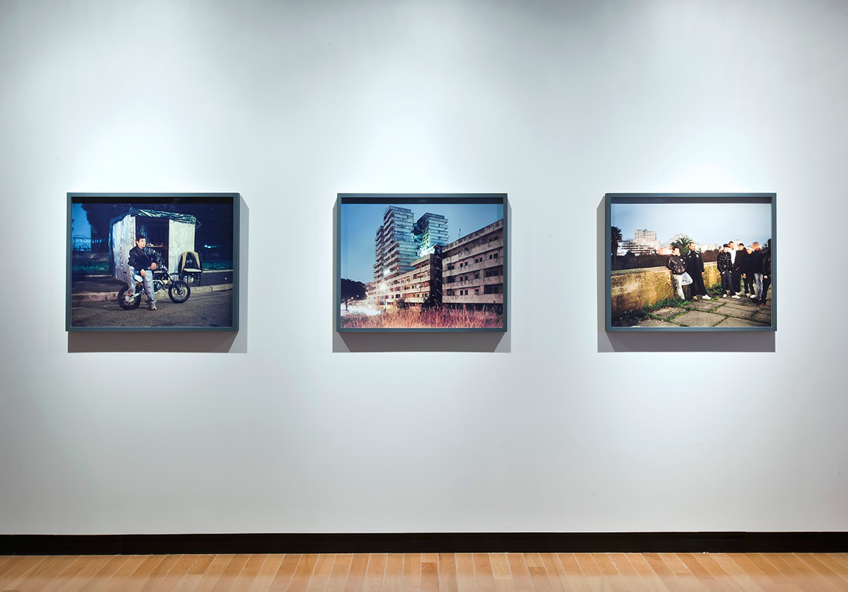 Installation view of Models for Taking Part