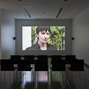 """Installation view of Crisis in the Credit System & Popular Unrest, 2012. Image credit: Toni Hafkenscheid"""
