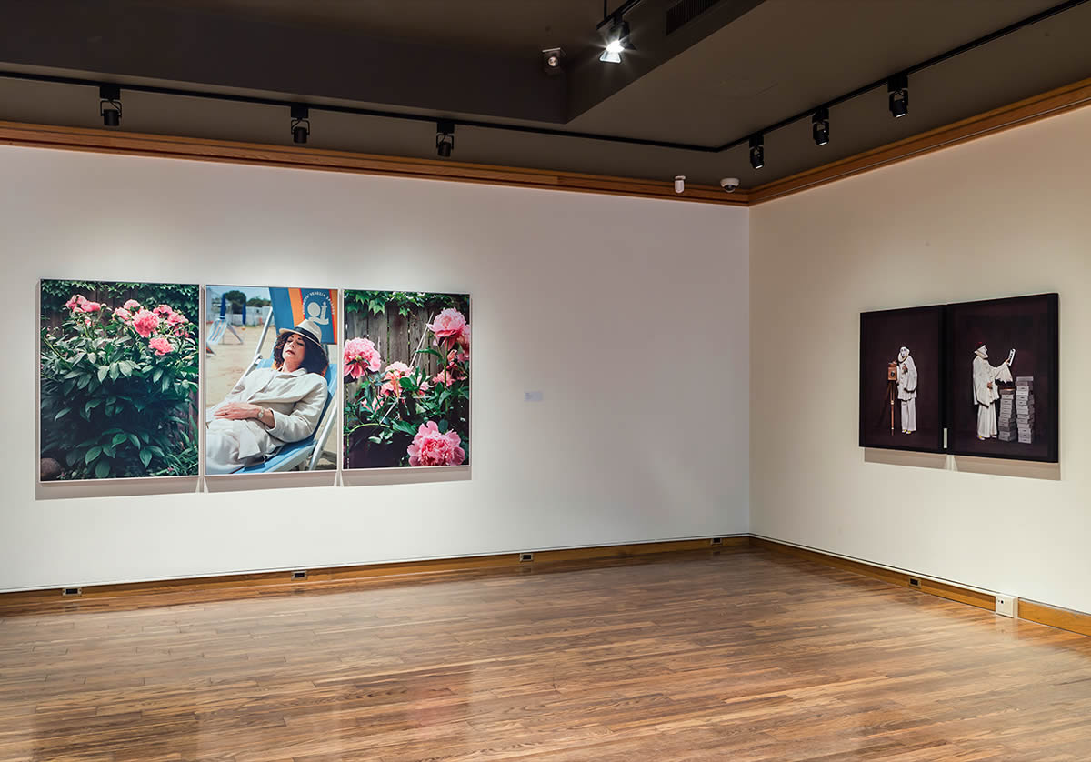 Installation view of persona