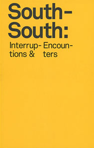 Cover of South-South: Interruptions and Encounters