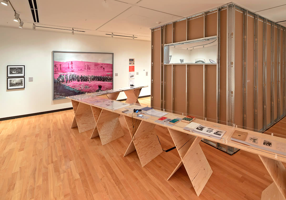 Installation view of CounterIntelligence
