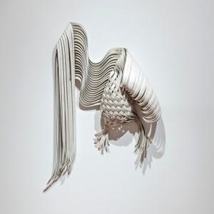 """""""Svea Ferguson, Alberta College of Art & Design, Future Classic, Linoleum flooring, 97 x 71 x 13 cm"""""""