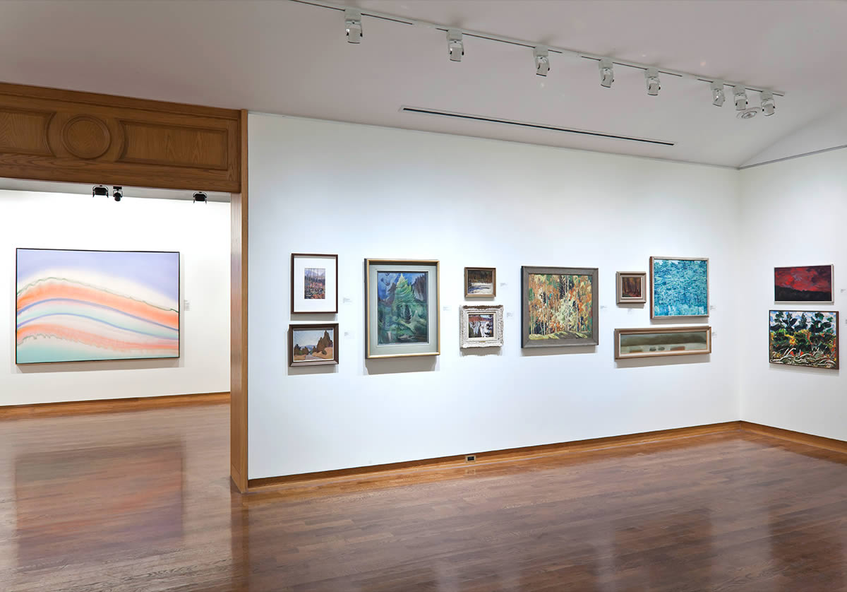 Installation view of The University College Collection: Great Art for A Great University
