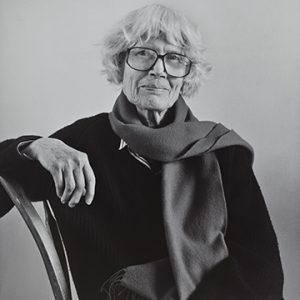 """Robert Giard, Mary Meigs, 1992/1999. Gelatin silver print. 41 x 51 cm. Gift of Jonathan Silin, 2010"""