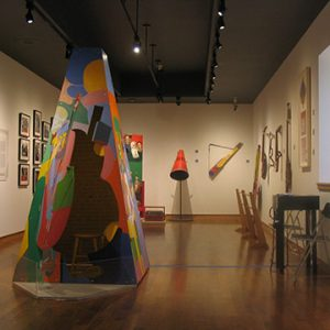 """Installation view of Soundtracks: See Hear!, 2003"""