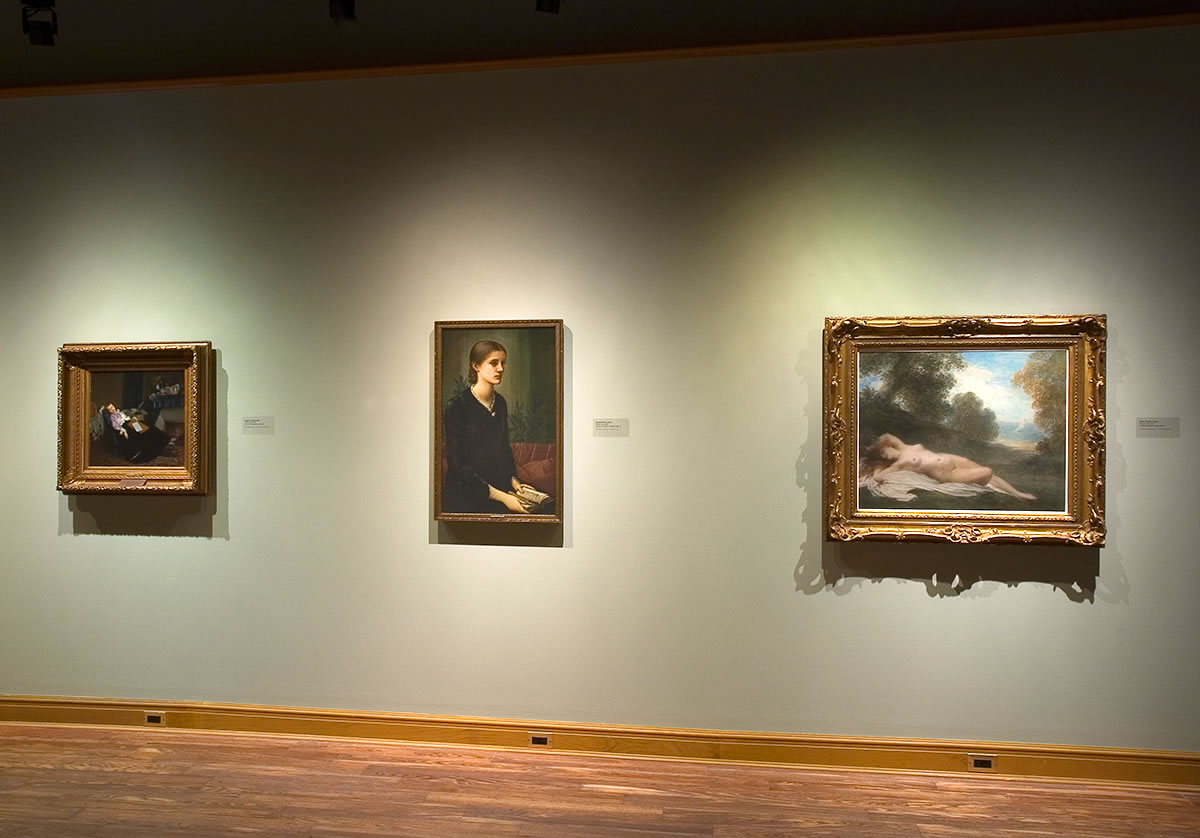 Three works gifted to the Art Museum