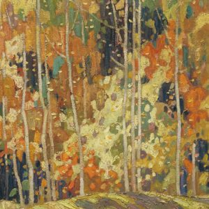 """Frank Carmichael, The Glade, 1922. Oil on canvas. 64 x 77 cm. University College Art Collection"""