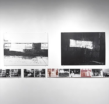 """Installation view of Traffic: Conceptualism in Canada, 2010. Image credit: Toni Hafkenscheid"""