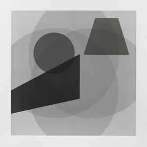 Grey background with overlapping grey shapes
