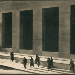 """Paul Strand, Wall Street, 1915. Photogravure. 13×16 cm"""