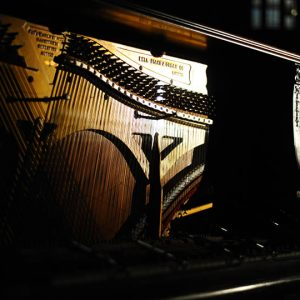 """Installation view of The Piano: Scotiabank Nuit Blanche Exhibition, 2012"""