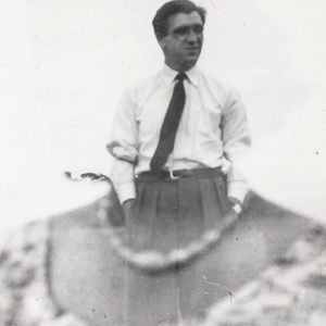 Photograph of man in suit
