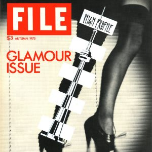 """General Idea, FILE MAGAZINE (""Glamour Issue,"" Vol. 3, #1, Autumn 1975), 1975. 80 pages. 36 x 38 cm"""