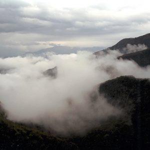 """Marjaana Kella, Mountain, Campo Cecina, 2000. C-print. 133 x 180 cm"""