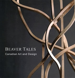 Cover of Beaver Tales: Canadian Art and Design