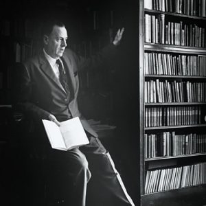 Marshall McLuhan lecturing