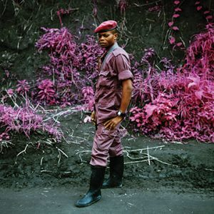 """Richard Mosse, General Février (Infra series), 2010. 20 x 25 cm. C-print. Courtesy of the artist and Jack Shainman Gallery, NY"""