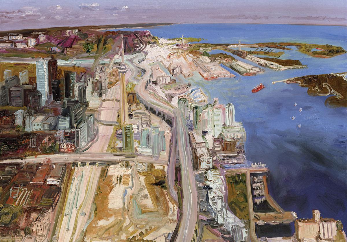Toronto harbour looking east