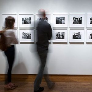 Installation view of Counterpoints