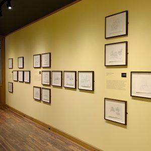 """Frank Gehry, Drawing of Guggenheim Museum Bilbao"""