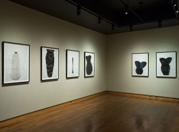 """Installation view of On Paper 2: Ideas of Order, 2005"""