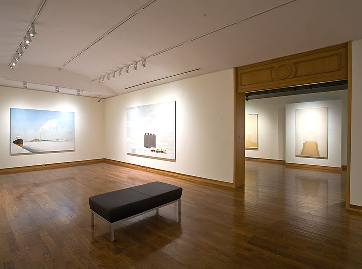 """Installation view of Kim Ondaatje, 2008. Image credit: Toni Hafkenscheid"""