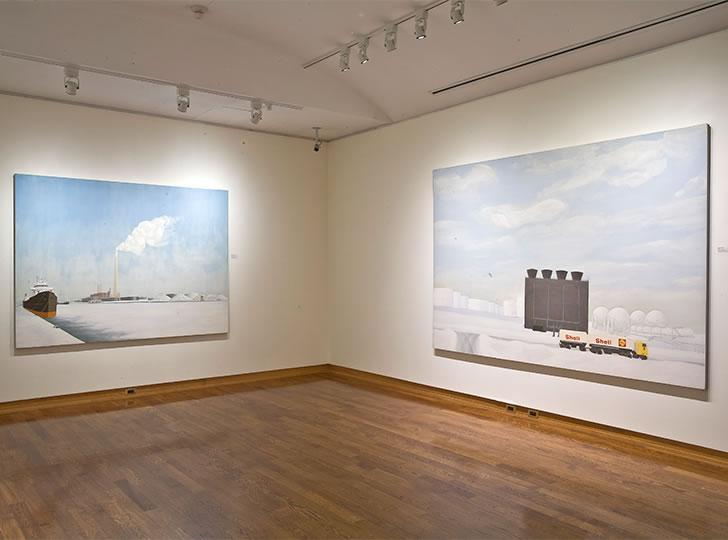 """Installation view of Kim Ondaatje, 2008. Image credit: Toni Hafkenscheid"""