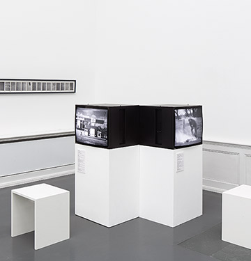 Installation view of Continental Drift