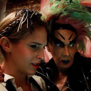 Close up video still of Zackary Drucker and Rhys Ernst