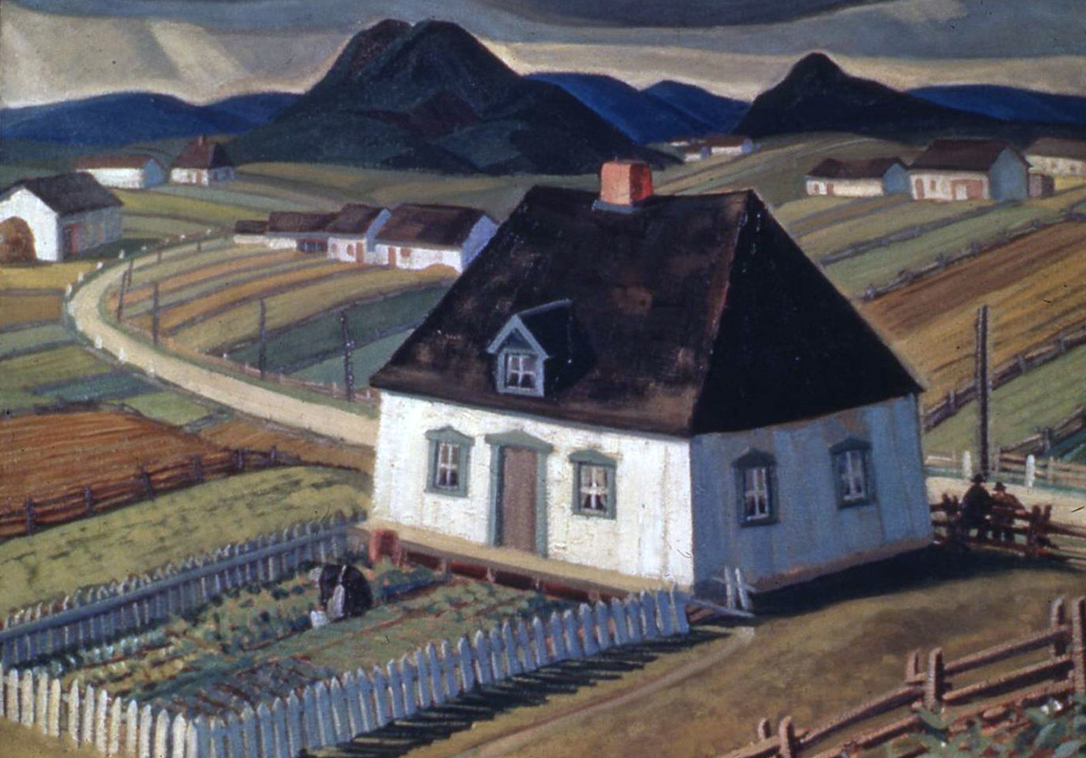 Painting of Farmhouse