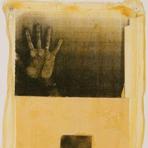 """Stephen Andrews,Safe-24, xerox on latex, 50cm x 40cm, 1993"""