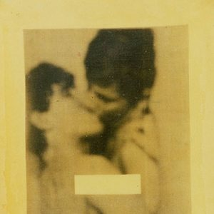 Xerox of two men kissing