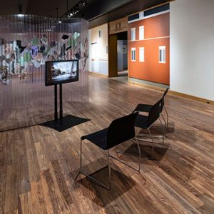 Installation view of Showroom