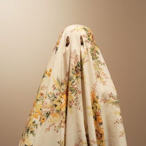 """""""Myfanwy MacLeod, Bedsheet With Holes, 2005. Courtesy Catriona Jeffries Gallery, Vancouver"""""""