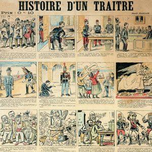 """""""Histoire d'un traître, Imprimerie spéciale de la Libre Parole, 1899. Broadside"""""""