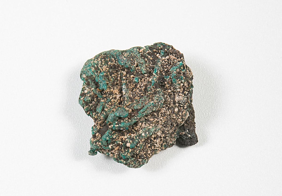 Piece of plastigomerate rock