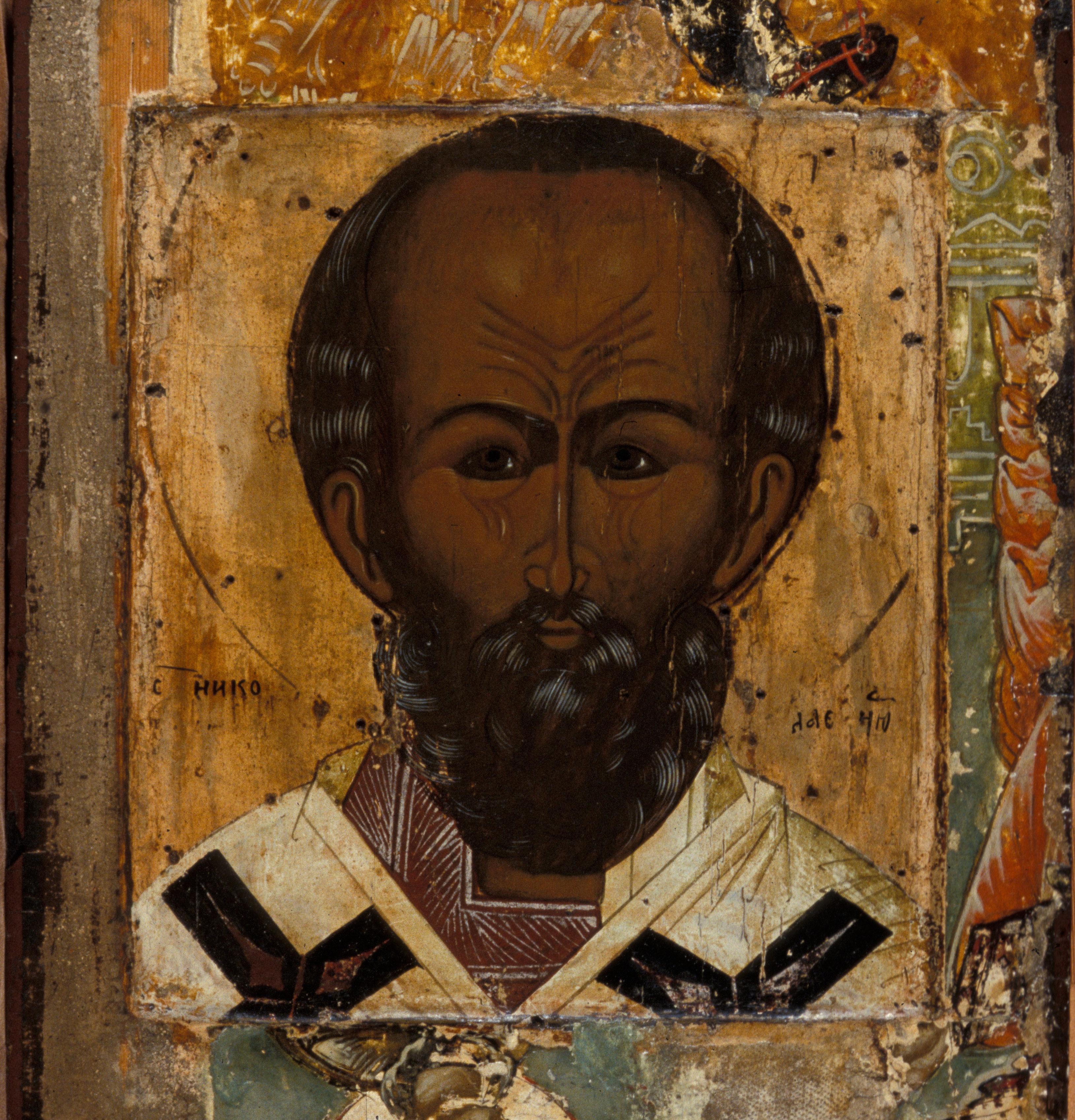 Depiction of St. Nicholas