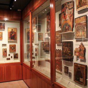 Byzantine art on display