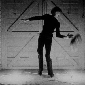 "Still from black and white film ""Nightfall"""